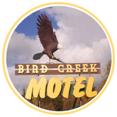 Bird Creek Motel & RV Park, logo