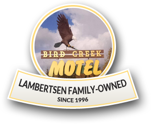 Bird Creek Motel, logo